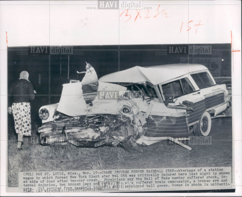 YouRememberThat.Com - Taking You Back In Time... - Mel Ott Fatal Car ...