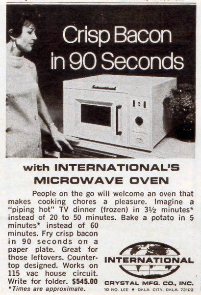 Microwave Oven 1946 ~ Yourememberthat taking you back in time