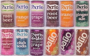 Patio Soda Was Introduced By Pepsi Cola In 1963 In Response To The First  Diet Cola By Diet Rite. Since Bottlers Were Regionally Franchised  Advertising Was ...