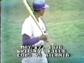 Ernie Banks Home runs  498-499 and 500