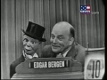 Edgar Bergen on Whats My Line 1954