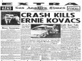 Ernie Kovacs Fatal Car Crash