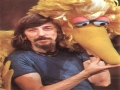 A Young Caroll Spinney with Big Bird