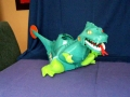 King Zor The Fighting Dinosaur by Ideal Toys Corporation 1962