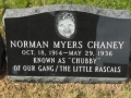 Chubby Gets a Headstone - 2012