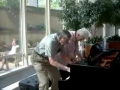 Impromptu Piano Duet at the Mayo Clinic