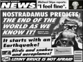 Tabloid End Of World Prophecy
