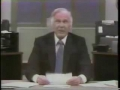 Johnny Carson Plays Walter Cronkite
