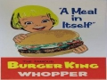 Burger King Whooper 60s Advertisement