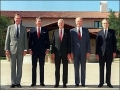 Five US Presidents in One Photo