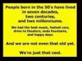 People Born In The Fifties