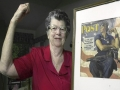 Model for Rosie The Riveter Passes