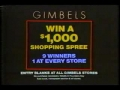 TV Ad for Gimbles