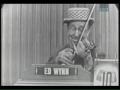 Ed Wynn on Whats My Line