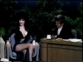 ELVIRA on JAY LENO Cassandra Peterson Mistress of the Dark