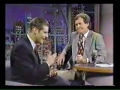 Crispin Glover 2nd appearance on Letterman