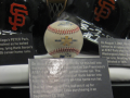 Barry Bonds Asterisk Ball