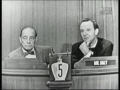 Buster Keaton On Whats My Line