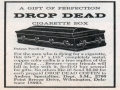 Drop Dead Cigarette Box