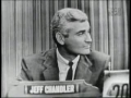 Jeff Chandler on Whats My Line