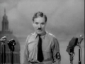 Chaplin Speech The Great Dictator 1940