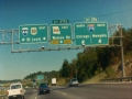 Interstate 44 and Interstate 50 East at Exit 276 Interstate 270 exits