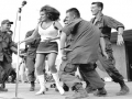 Raquel Welch Entertains The Troops