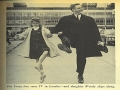 Alan Young and Daughter