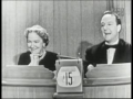 Helen Hayes on Whats My Line