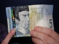 Canadian Five-Dollar Spock Banknotes