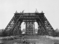 Partially Completed Eiffel Tower - 1888