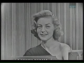 Lauren Bacall on Whats My Line