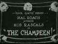 Our Gang - The Champeen 1923
