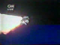 Challenger Disaster Live on CNN
