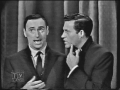 Ed Sullivan with Rowan and Martin 1960s