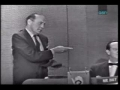 Jack Benny on Whats My Line 1959