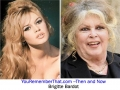 Then and Now- Brigitte Bardot