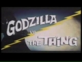 Godzilla  vs The Thing Trailer 60s