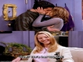 Friends - Ross and Rachel First Kiss