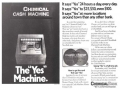 First Use Of An ATM - The Yes Machine