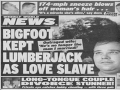 Bigfoot Tabloid Story