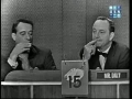 Victor Borge on Whats My Line