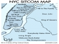 New York Sitcom Map