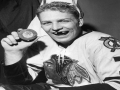 Bobby Hull Celebrates 50 Goals
