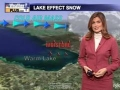 How to form Lake Effect Snow