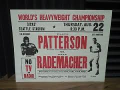 Patterson-Rademacher fight 1957