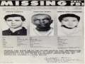 FBI Poster - Mississippi Burning Case