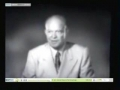 Eisenhower TV Ad- Same Message As Today