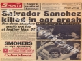 Death of Salvador Sanchez - 1982