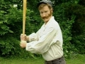 Conan OBrien plays 1864 Baseball